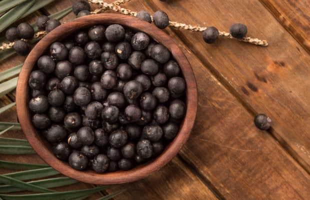 Acai Berries σε μπολ