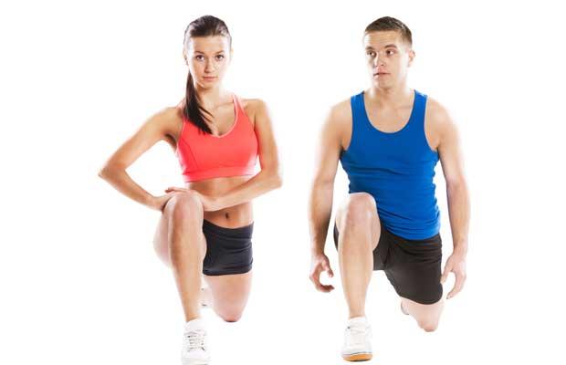 Άντρας και Γυναίκα Αθλητές