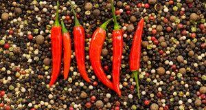 κόκκινου πιπέρι καγιέν