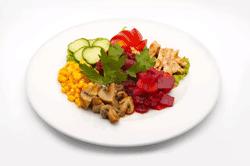 Πιάτο με λαχανικά