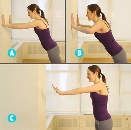 plyometric wall pushups