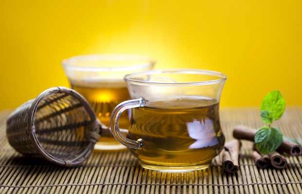 Πράσινο τσάι σε κούπα