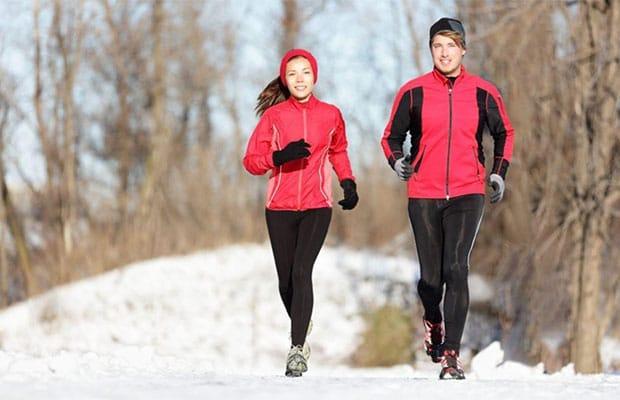 Τρέξιμο σε χιόνι